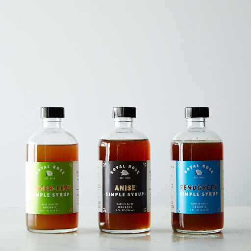 Ginger-Lime, Fenugreek & Anise Syrups