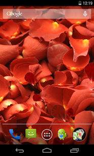 Rose petals Live Wallpaper- screenshot thumbnail