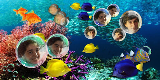 My Photo Bubble Aqurium LWP