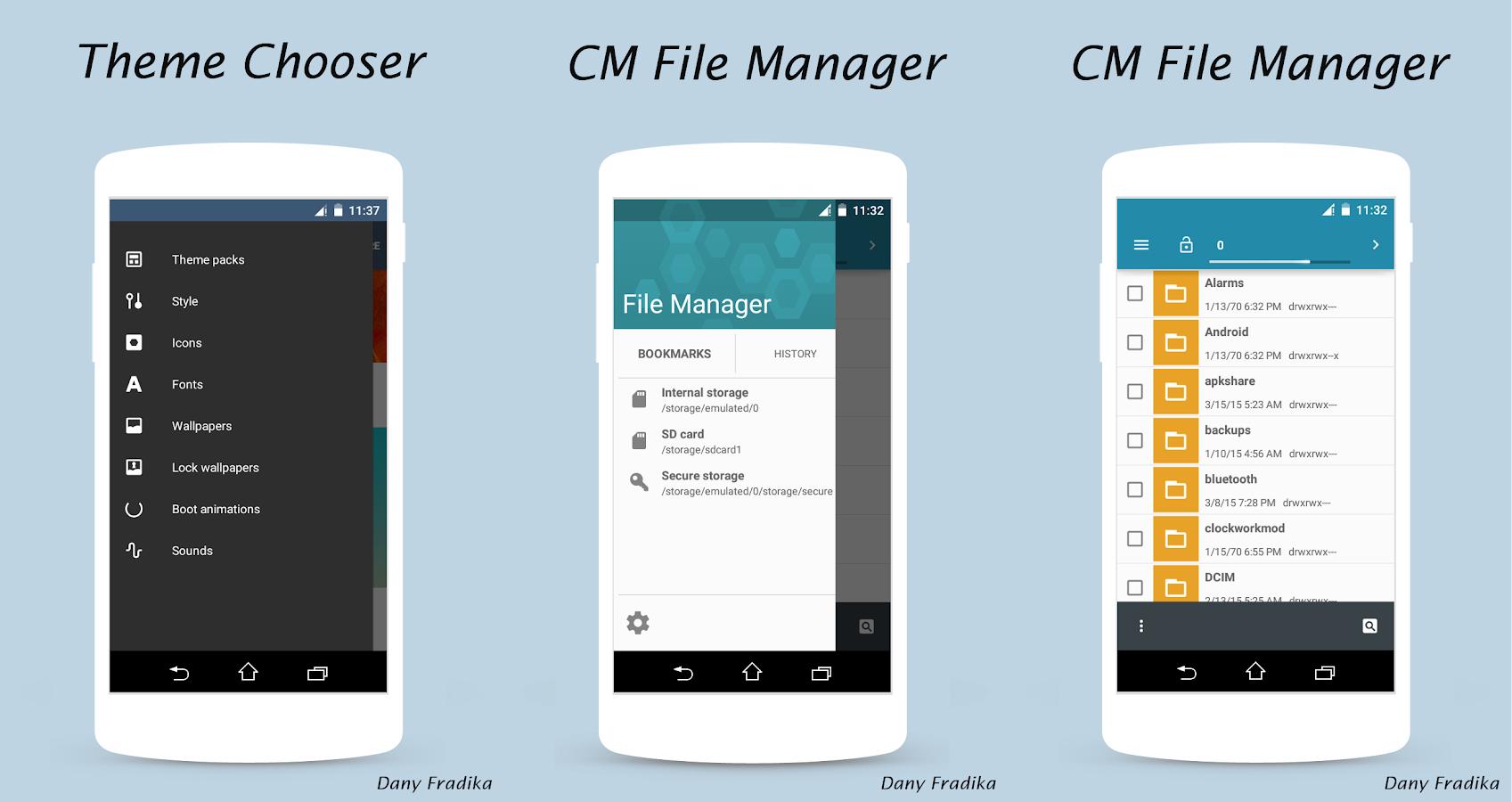 ZenfoneUI CM12/12.1 - screenshot