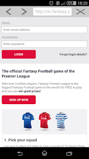 Fantasy Premier League EPL - screenshot thumbnail