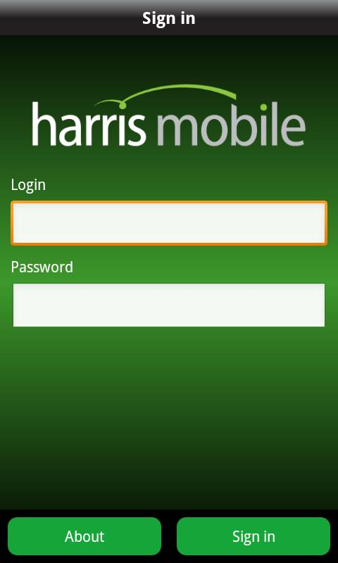 Harris Mobile - screenshot