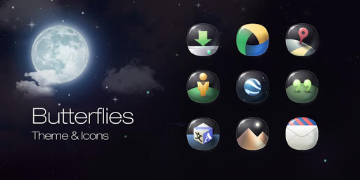 Butterflies Icons Wallpapers