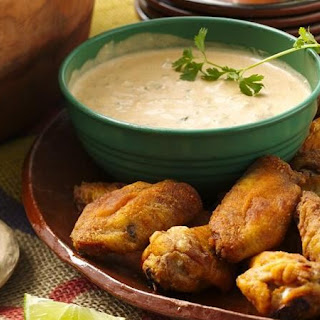 Mexican Baked Chicken Wings.