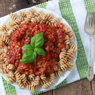 Red Lentil Marinara Sauce