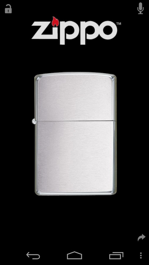 Virtual Zippo® Lighter - screenshot