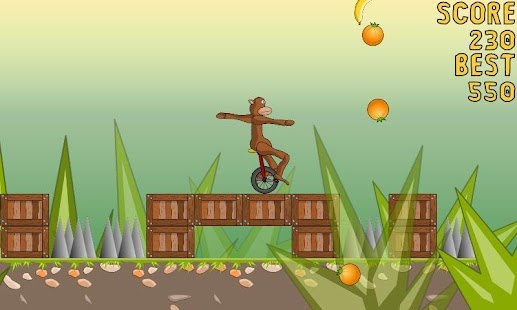 Monocycle Monkey - screenshot thumbnail