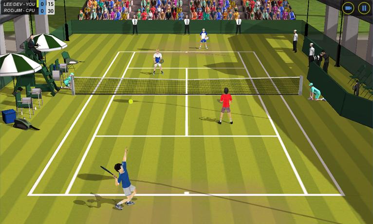 Flick Tennis screenshot #6