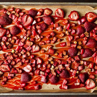 Roasted Rhubarb and Strawberries Recipe