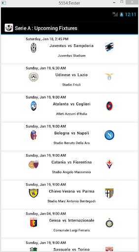 Serie A Scores