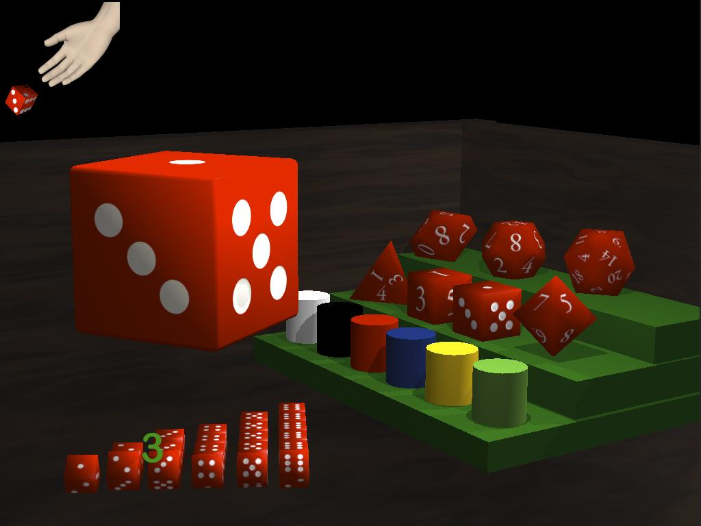 Dice Math- screenshot