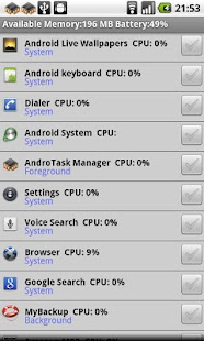 Andro Pro Task Manager - screenshot thumbnail