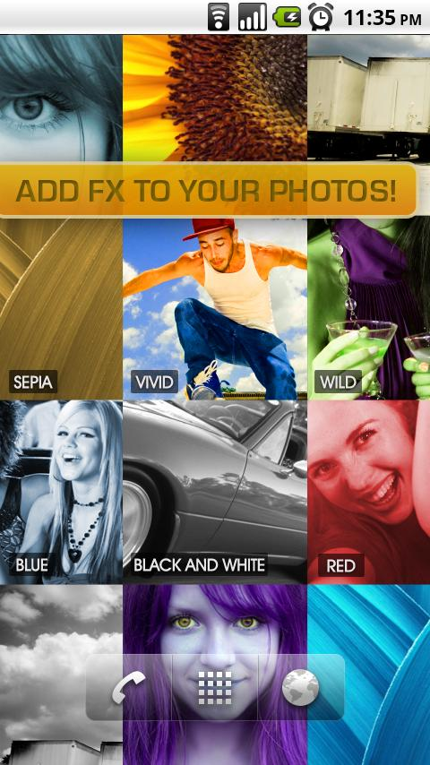 PhotoWall Live Wallpaper - screenshot