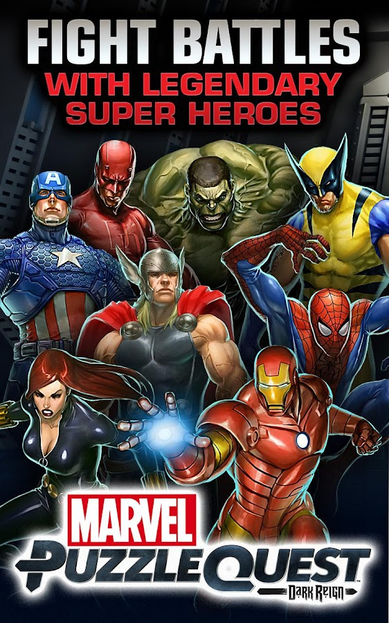 Marvel Puzzle Quest - screenshot