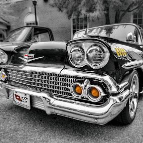 Splash Of Color by RomanDA Photography - Transportation Automobiles ( chevrolet, chrome, chevy, classic,  )
