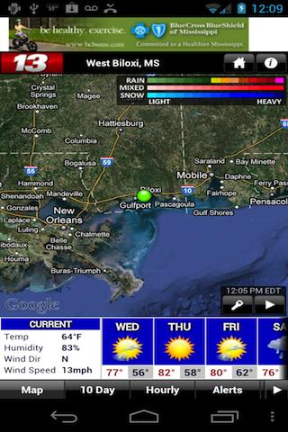 WLOX 24/7 Weather - screenshot
