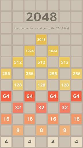 2048 Puzzle Game