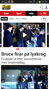 Nöjesbladet - screenshot thumbnail