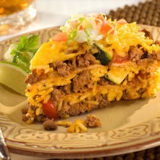 Vegetable Taco Pie.