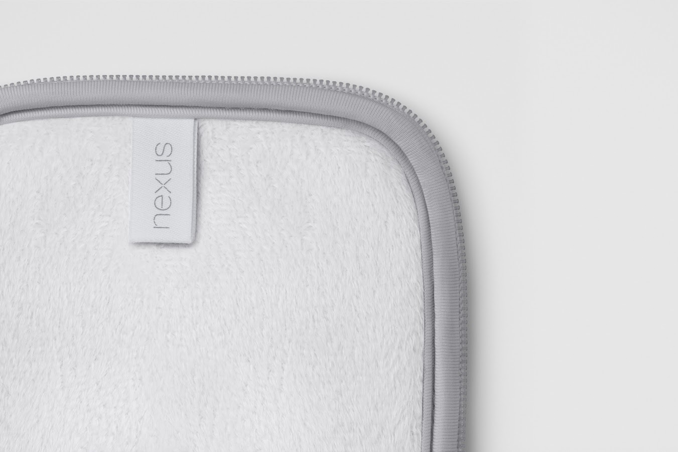 Nexus 7 Sleeve - Gray/White - screenshot