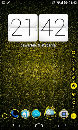 TSF Shell Theme Holo Yellow