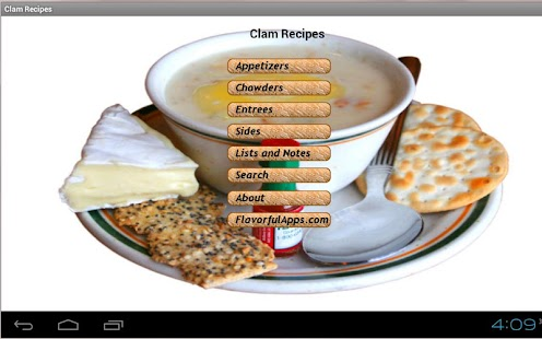 Clam Bake and Chowder Recipes - screenshot thumbnail