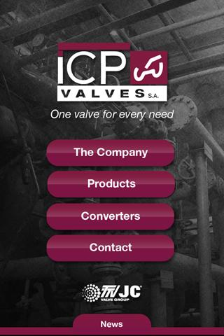 ICP Valves- screenshot