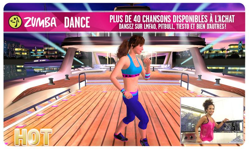 Zumba Dance – Capture d'écran