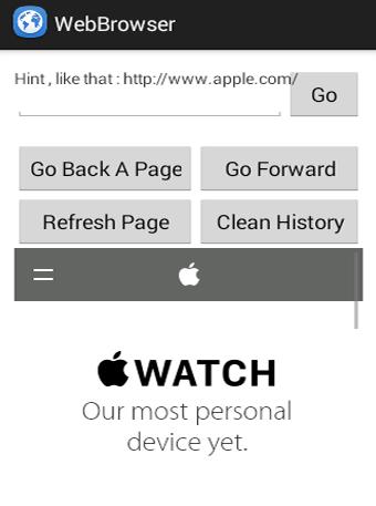 Simple Web Browser