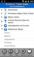 Screenshot of Provence & French Riviera