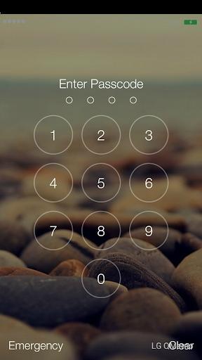 Keypad Lock Screen Iphone