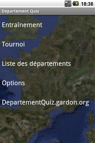 Département Geo Quiz - France