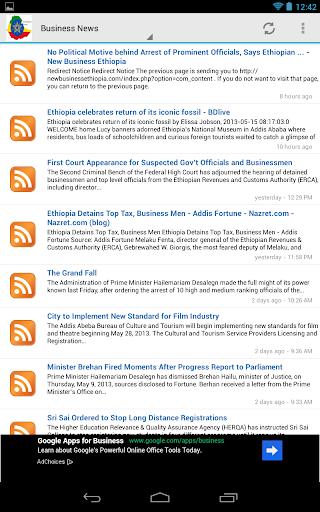 【免費新聞App】Ethiopian News-APP點子