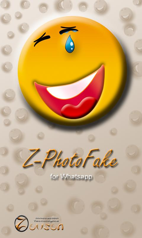 Z- Photo Fake for WhatsApp - screenshot