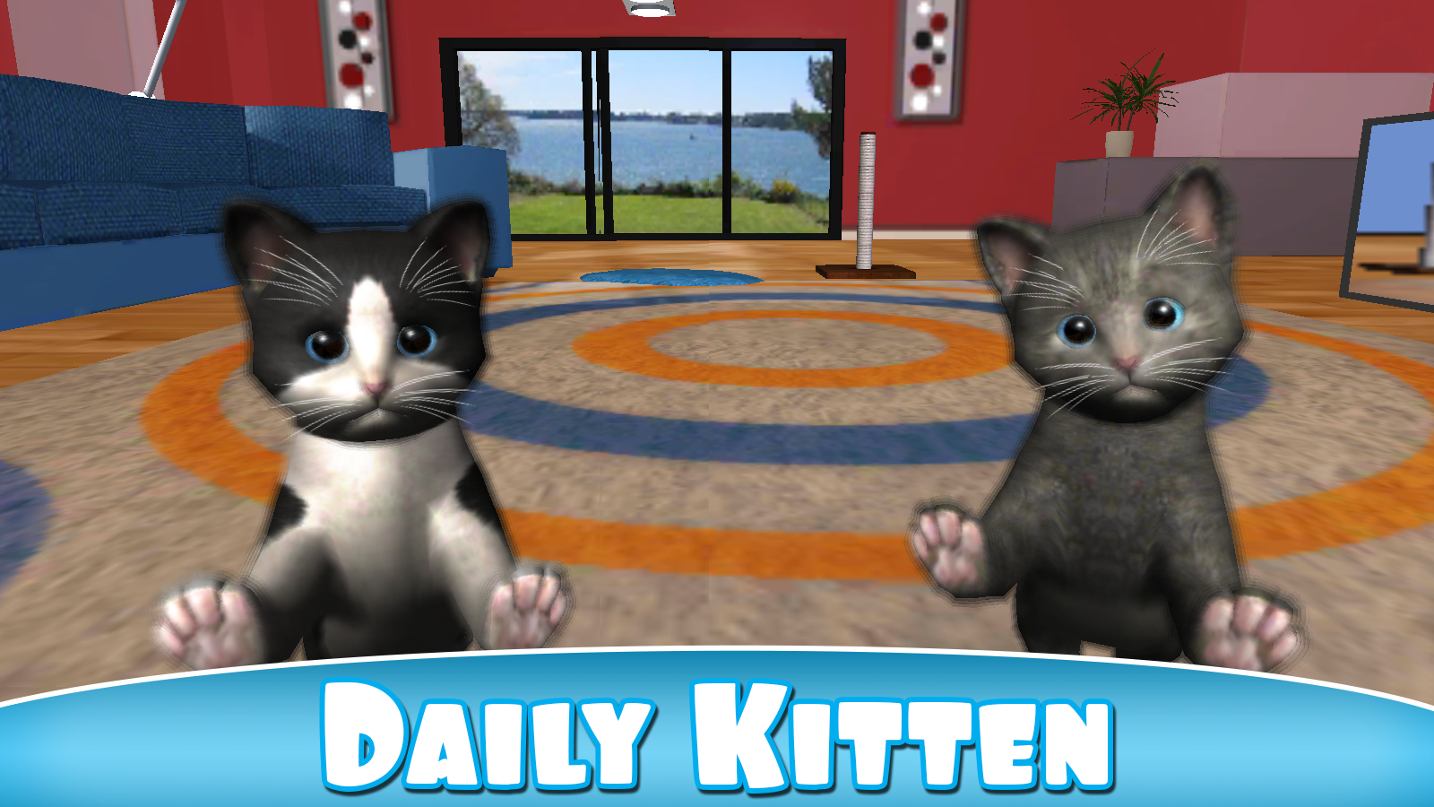 Daily Kitten : virtual cat pet- screenshot