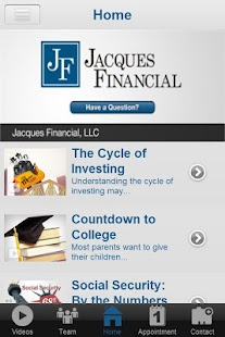 Jacques Financial- screenshot thumbnail