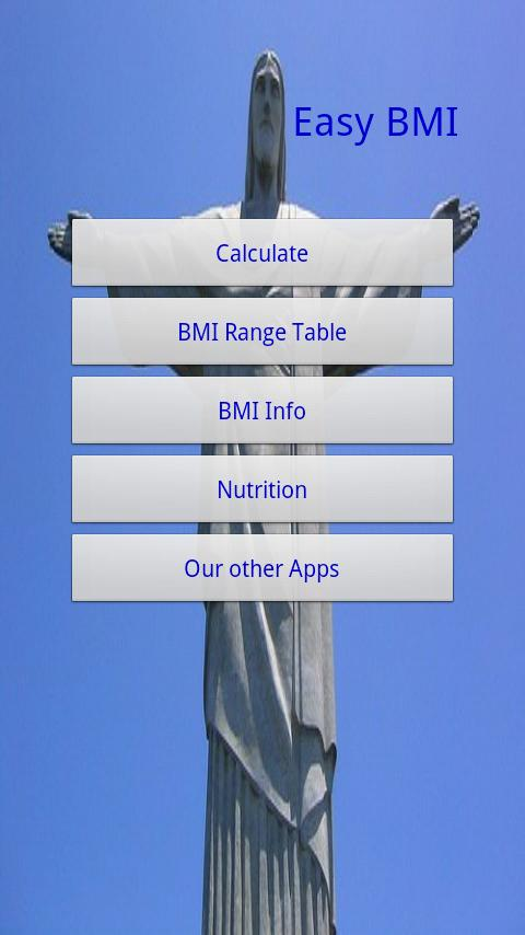 Easy BMI - screenshot