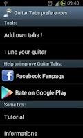 Screenshot of Guitar Tabs
