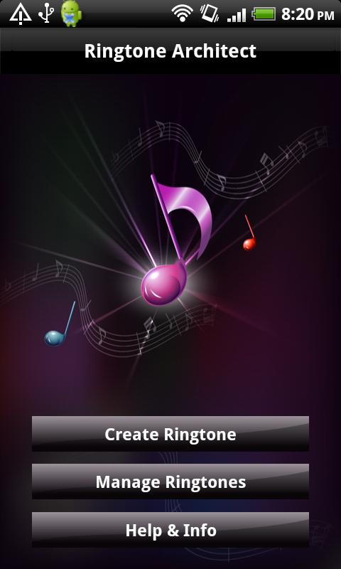 Ringtone Architect - screenshot