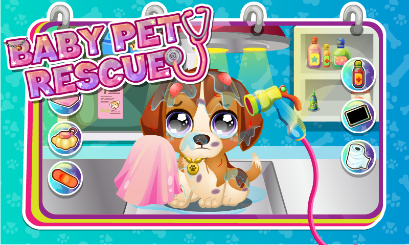 Baby Pet Care & Rescue- screenshot
