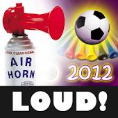 EURO 2012 Soccer AIR Horn FREE