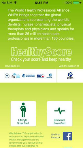 Healthy Score