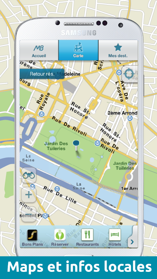 M8 – GPS & Info locales - screenshot