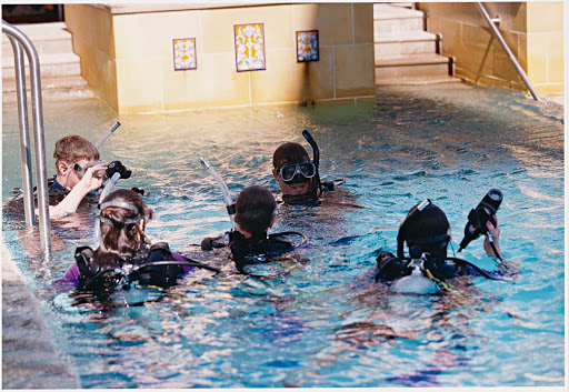 Explorer-of-the-Seas-scuba-lessons - Want to learn the basics of scuba diving before going on an actual scuba dive? Explorer of the Seas offers scuba lessons  taught by one of the ship's instructors.