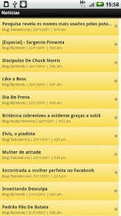 Blogs de Humor - screenshot thumbnail