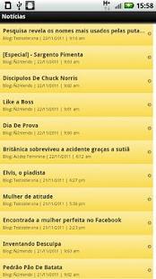 Blogs de Humor - screenshot thumbnail