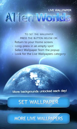 的外星世界动态壁纸