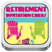 Retirement Invitation Cards