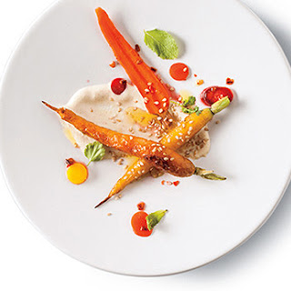 Carrots with Almond Purée