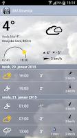 Screenshot of iSKI Slovenija